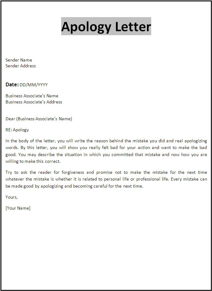 business apology letters Oylekalakaarico
