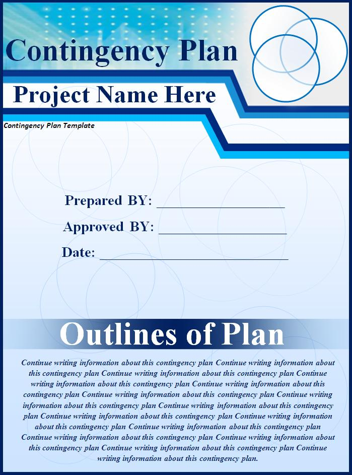 Contingency Plan Template | Free Printable Sample MS Word Templates ...