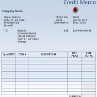 blank credit note template .