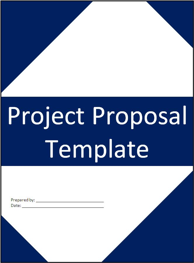 Doc649416 Project Proposal Word Template Project Proposal – Ms Word Cover Page Templates Free Download