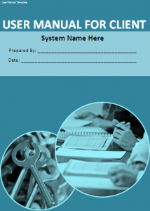 User Manual Template