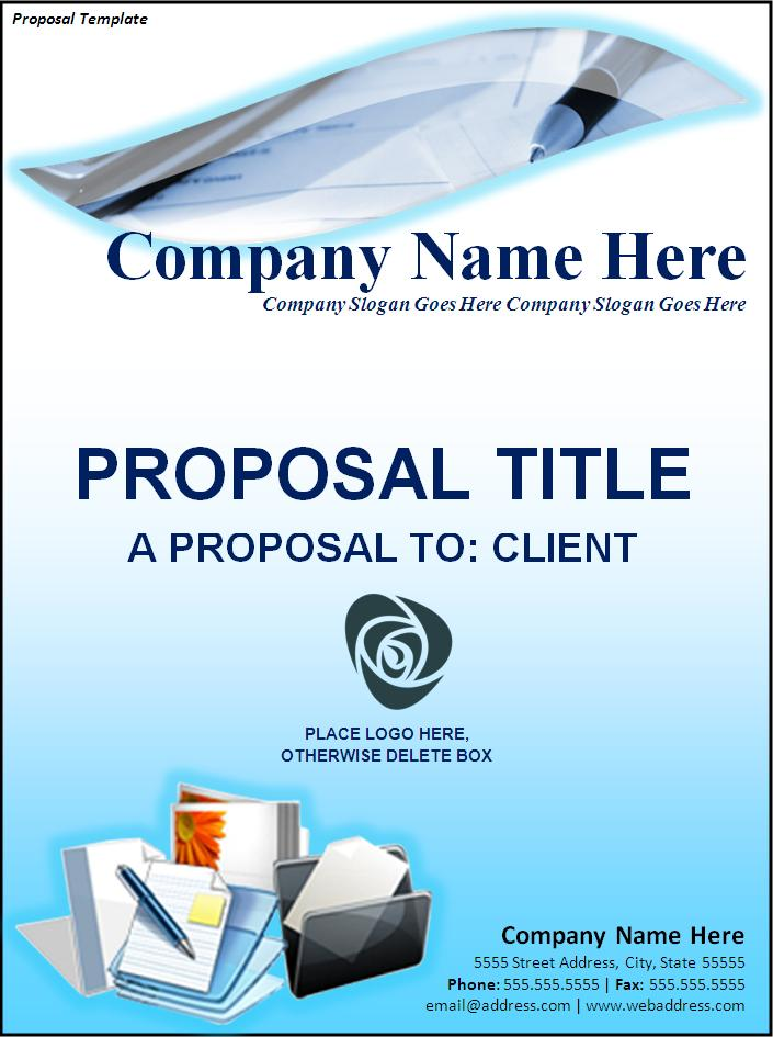 Free Proposal Template Free Printable Word Templates