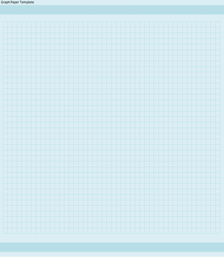 Graph Paper Template  Free Printable Word Templates